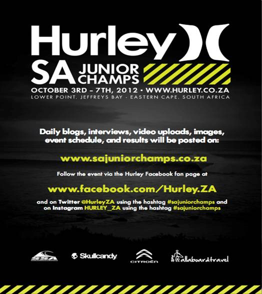 Hurley SA Junior Champs 2012