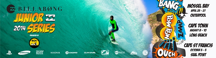 Billabong Junior Series # 1 Mossel Bay, Southern Cape