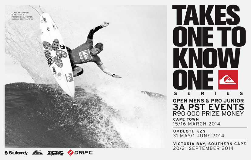 Quiksilver Takes One To Know One Victoria Bay 2014