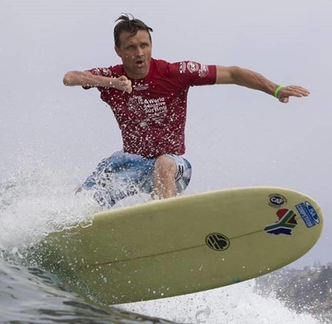 Antony Smyth of South Africa on his way to a Silver medal : photo ISA