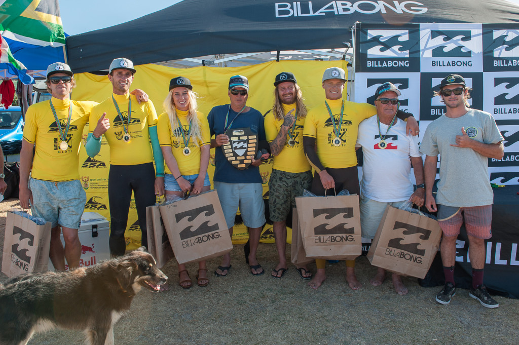Seal Point Boardriders B Team celebrate their victory : Photo Kody McGregor