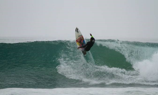 ANGELO FAULKNER OF PELLSRUS IN JEFFREYS BAY IS TOP SEED IN THE U18 DIVISION OF THE CAPE TOWN