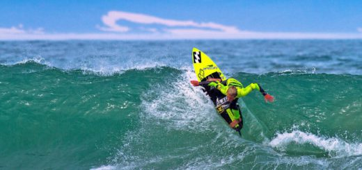 Pictured: Mitch du Preez (Buffalo City) opened his campaign for the U13 boys' title with a Round 1 heat victory in the Billabong SA Junior Champs presented by BOS at Jeffreys Bay on Wednesday Photo: Billabong / Thurtell