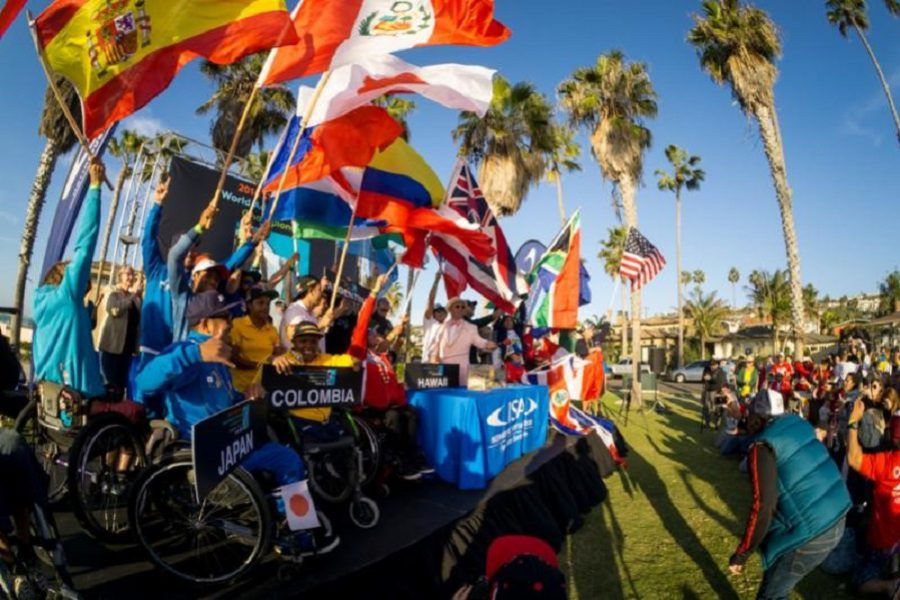 Historic Second Annual Stance ISA World Adaptive Surfing Championship Officially Declared Open