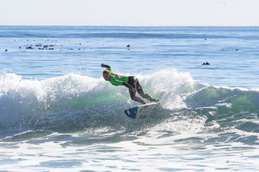 Good surfing and small waves on Day One of the BOS Cape Crown presented by Billabong