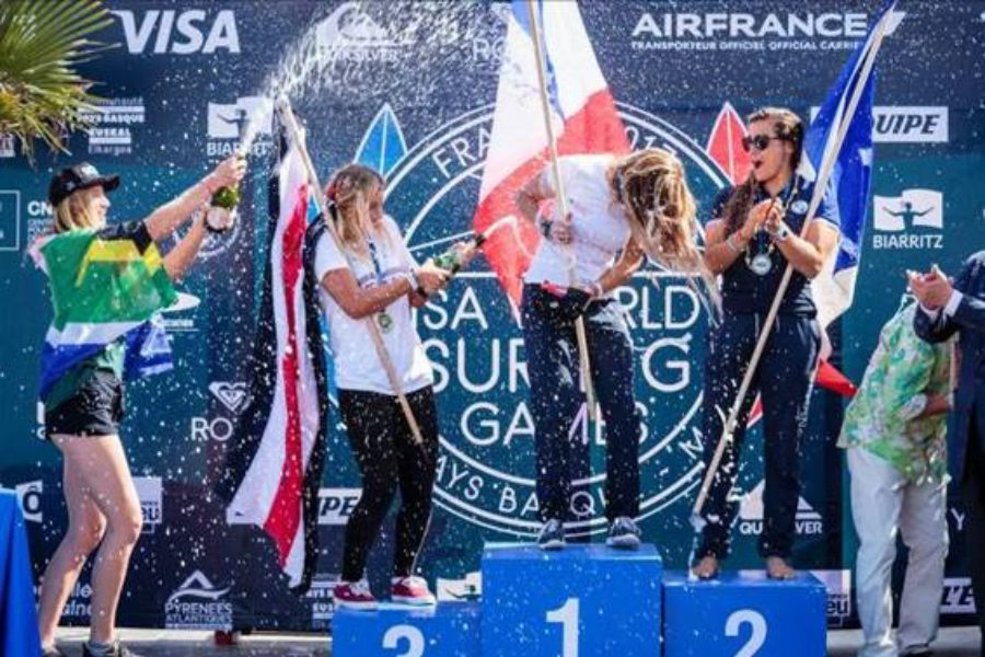 South Africa Finishes 10th With One Medal at ISA World Surfing Games