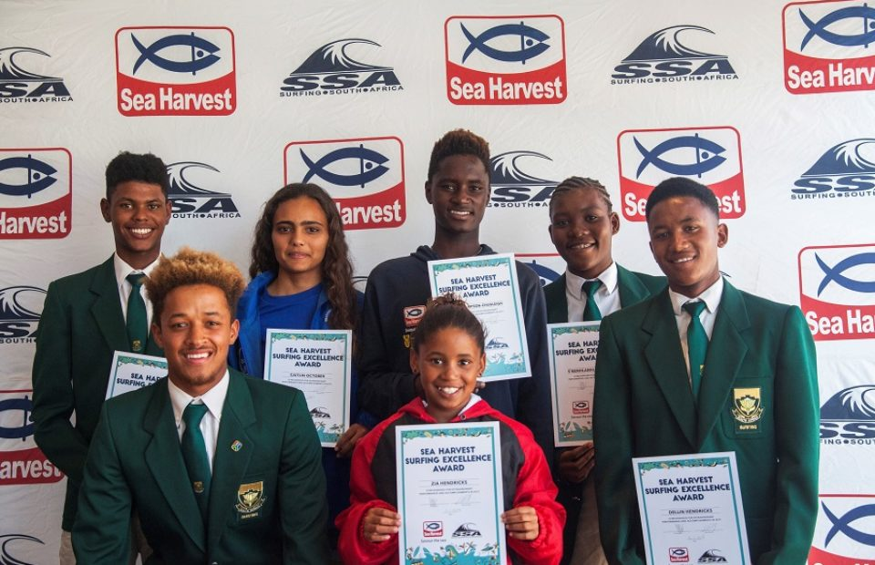Six South African surfers win Sea Harvest Surfing Excellence Awards