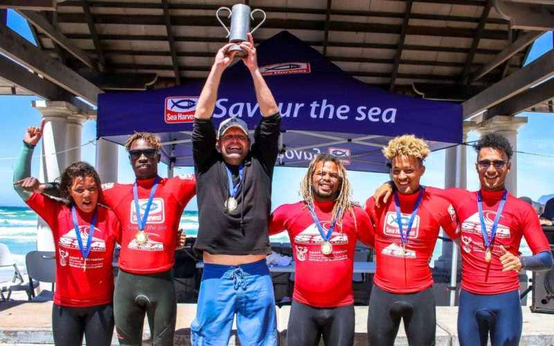 SWOTSurfClubsuccessfully defend their title at the 2018 Sea Harvest Interclub Championships in Muizenberg.
