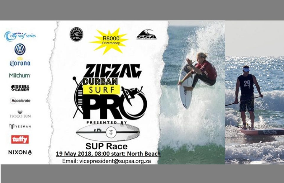 First City Surf Series Stand Up Paddleboard race to be held at the Zigzag Durban Surf Pro presented by Graham Smith Surfboards