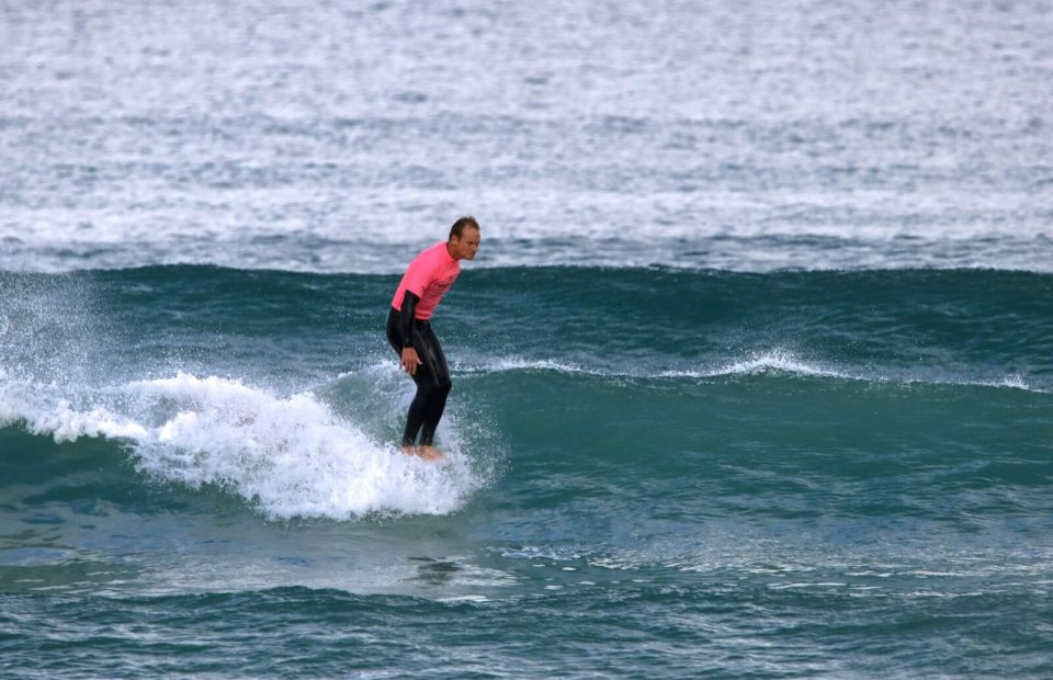 Small waves and high scores on Day Two of the 2018 Tigers Milk Winter Classic at Muizenberg Corner.
