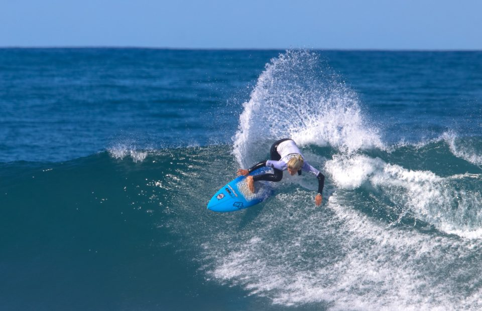 Zoe Steyn and Jordy Maree crowned SA Women's and Men's Champion's respectively at the 2018 Mercedes-Benz SA Surfing Championships hosted by Buffalo City
